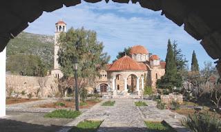 Το μοναστήρι του Αγίου Εφραίμ στη Νέα Μάκρη
