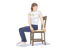 Peregangan rotasi punggung bawah