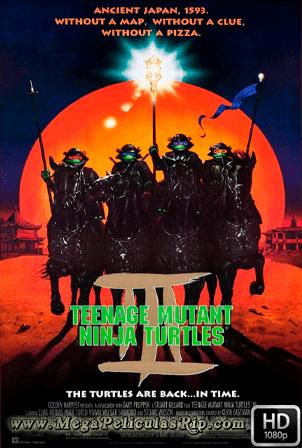 Las Tortugas Ninja 3 [1993] [Latino-Ingles] HD 1080P [Google Drive] GloboTV