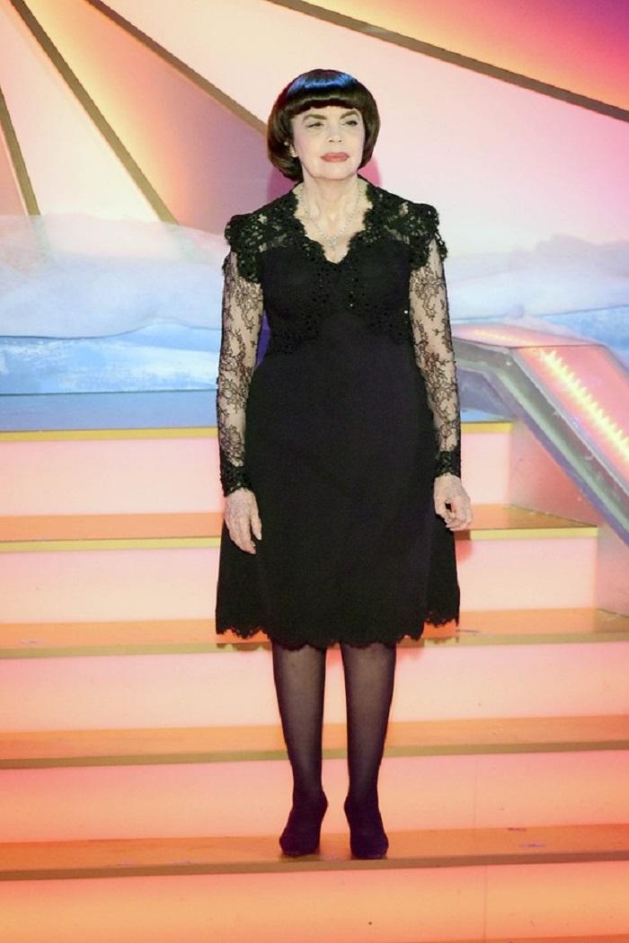 Mireille Mathieu, în vârstă de 72 de ani, nu a fost măritată niciodată foto: Getyimages