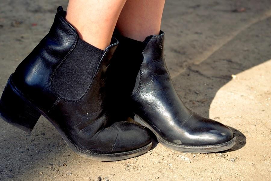 bonaparte leder schuhe ankle