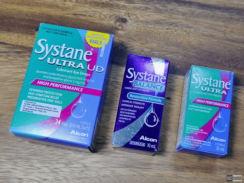 Systane Philippines parades dry eyes and digital eye strain fighting products, shares eye care tips