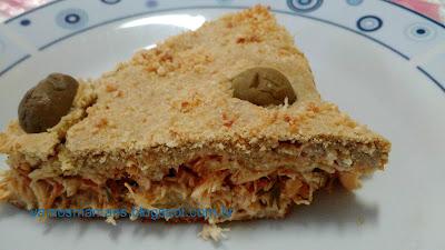 Torta de Frango sem farinha