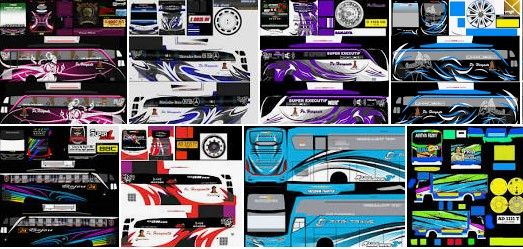 Livery Bussid XHD