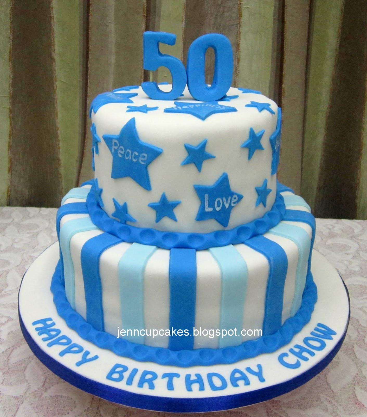 5kg Cake Images : Jenn Cupcakes & Muffins: 50th Birthday Cake