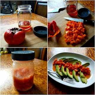 Easy to make, delicious to eat Persimmon Vinaigrette!