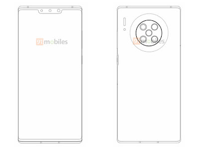 Possible-Huawei-Mate-40-Pro-sketch-image