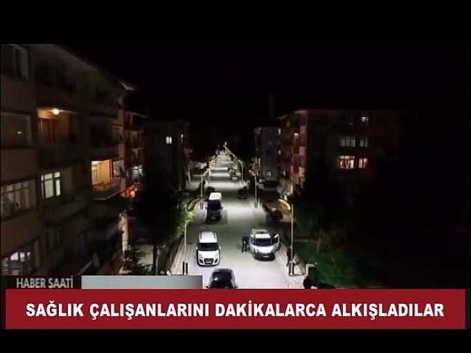 Turhal Belediyesi'de sağlık çalışanlarını desteklemek amacıyla halka anoslarla çağrıda bulundu.