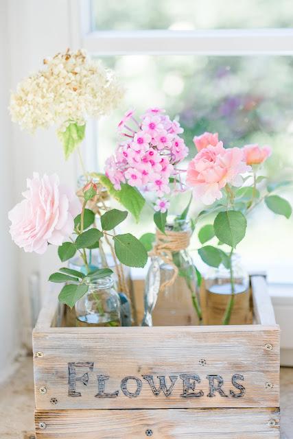 Blumen arrangieren, Pomponetti