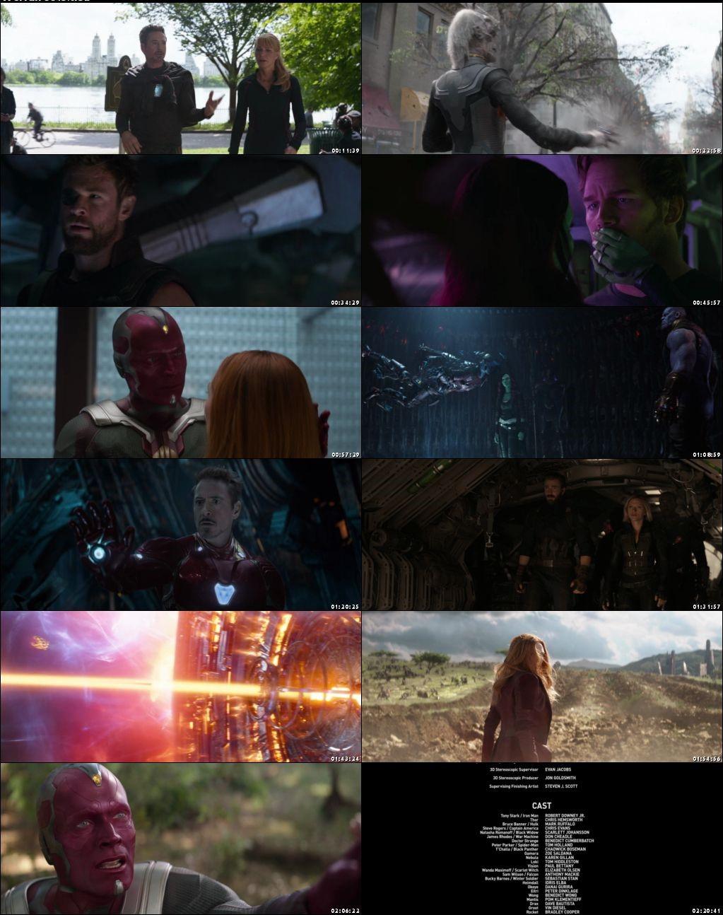 Avengers: Infinity War 2018 Full Hindi Movie Download Dual