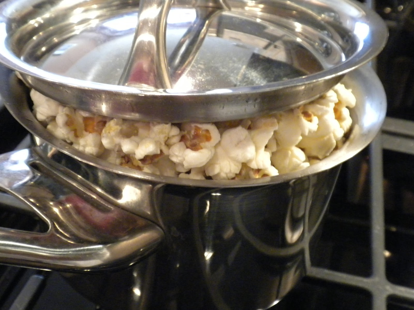 Popcorn Made on the Stove by Substance of Living