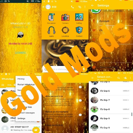 Whatsapp Gold 1.0 latest version of Gold Whatsapp