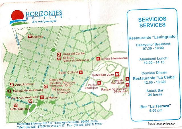 Hospedagem em Santiago de Cuba: Hotel San Juan