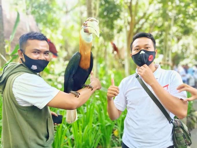Visit Lombok Wildlife Park Lombok Utara, Polda NTB Ajak Pers, Gathering or Outing