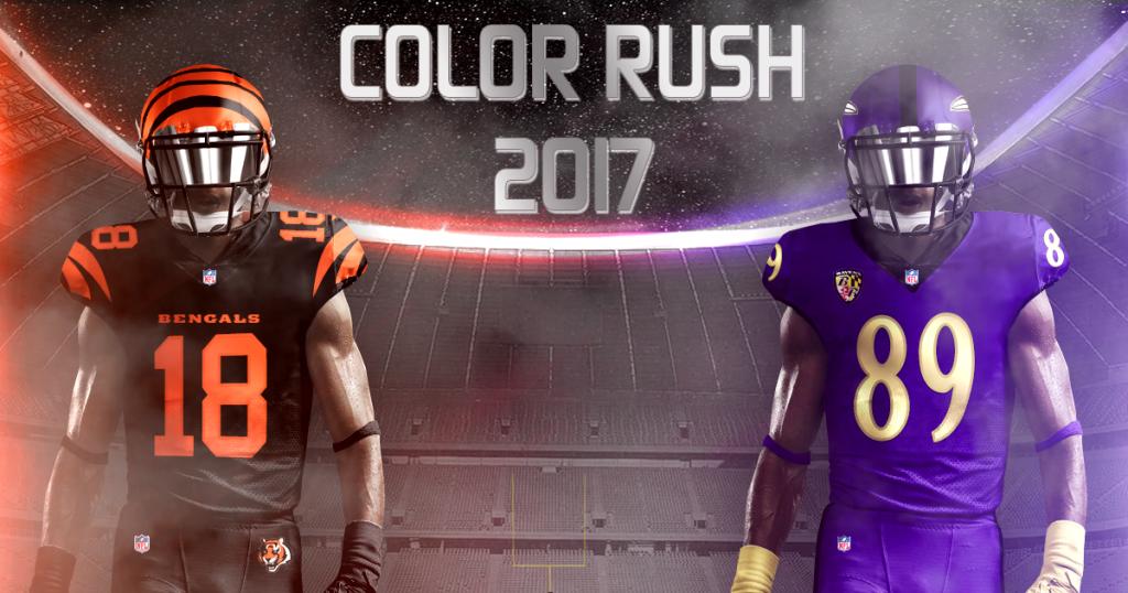 wholesale dealer 8143f f0d65 Design: Adam's Take On NFL Color Rush 2017 - Touchdown Europe