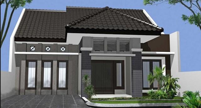 model rumah sederhana tapi kelihatan mewah klasik