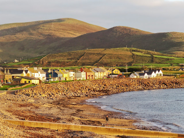 Waterville Ireland at golden hour on the Ring of Kerry