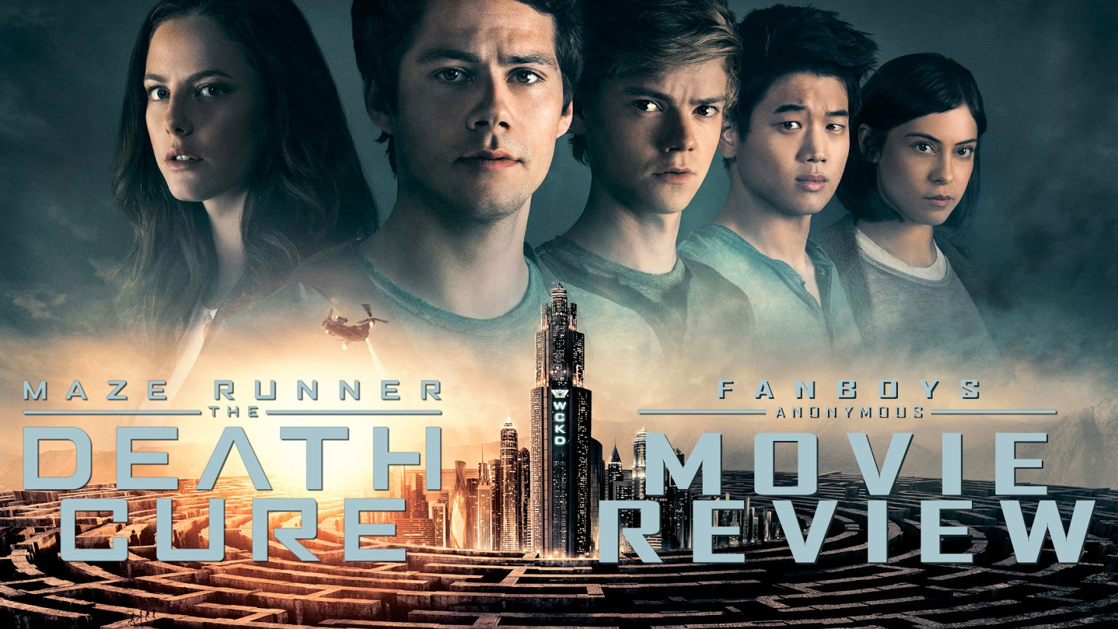 movie review Maze Runner: The Death Cure podcast