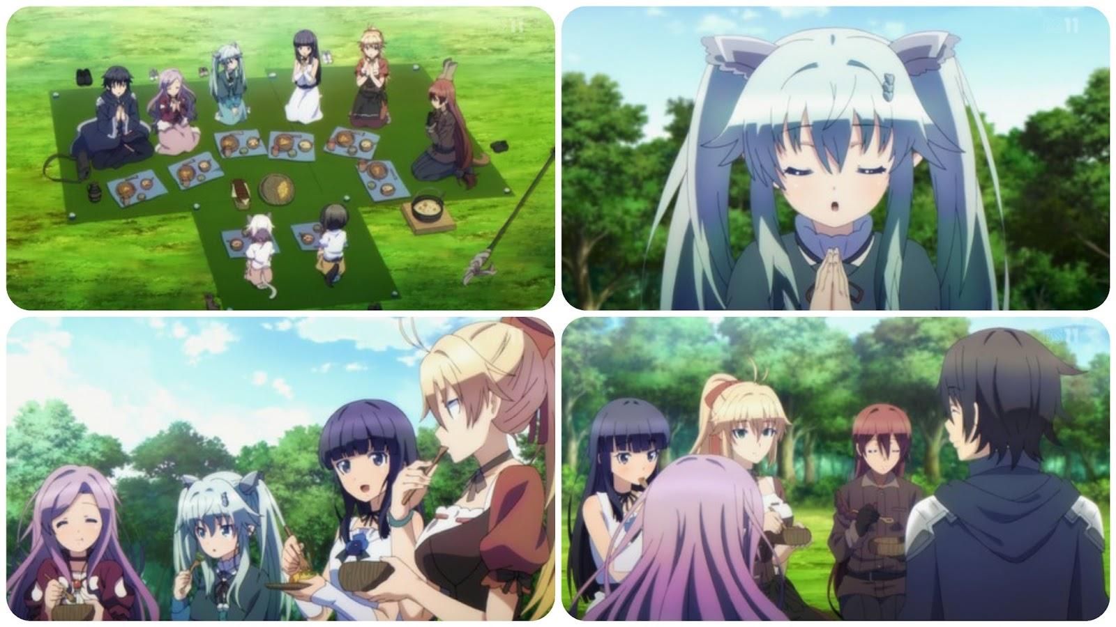 Anime Nikki Death March Kara Hajimaru Isekai Kyousoukyoku