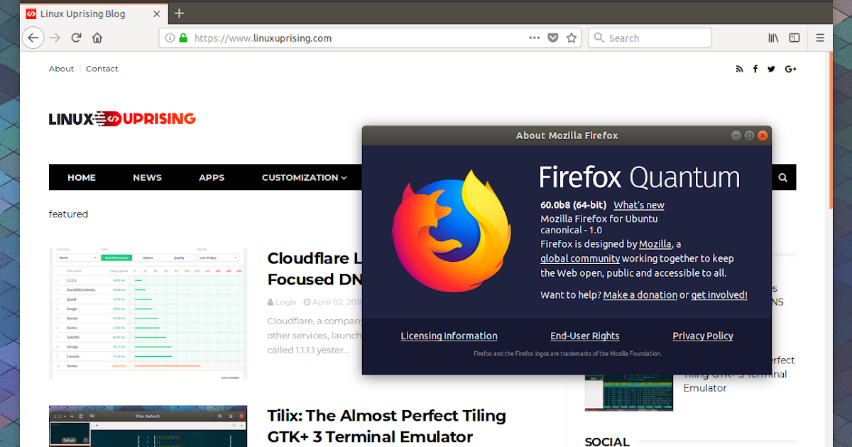 How To Install Firefox Beta Or Nightly (Alpha) In Linux Mint
