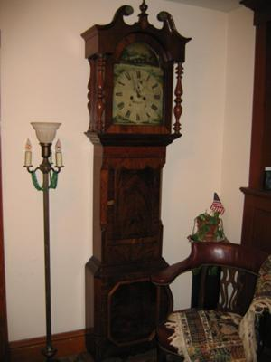 One Heirloom, A Grandfather Clock, Was Passed Down Through 5 Generations Of  My Family.