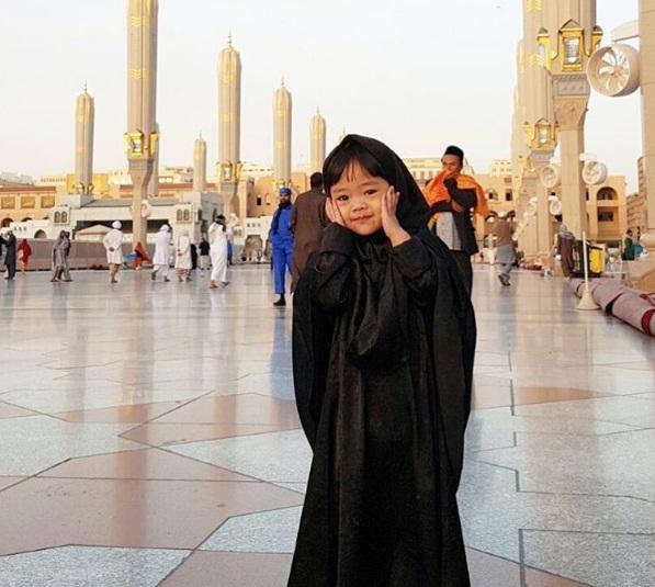 Foto Maryam Nusaibah Abdullah Berhijab