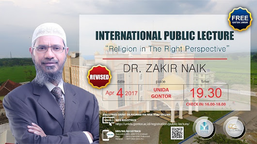 International Public Lecture by Dr. Zakir Naik #Part1 | Heni Syakarna's Daily