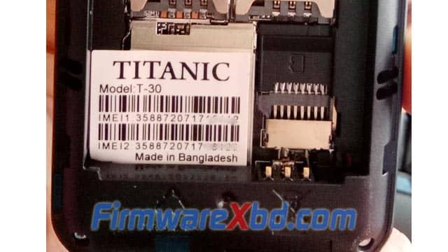 Titanic T-30 6531E Flash File Download