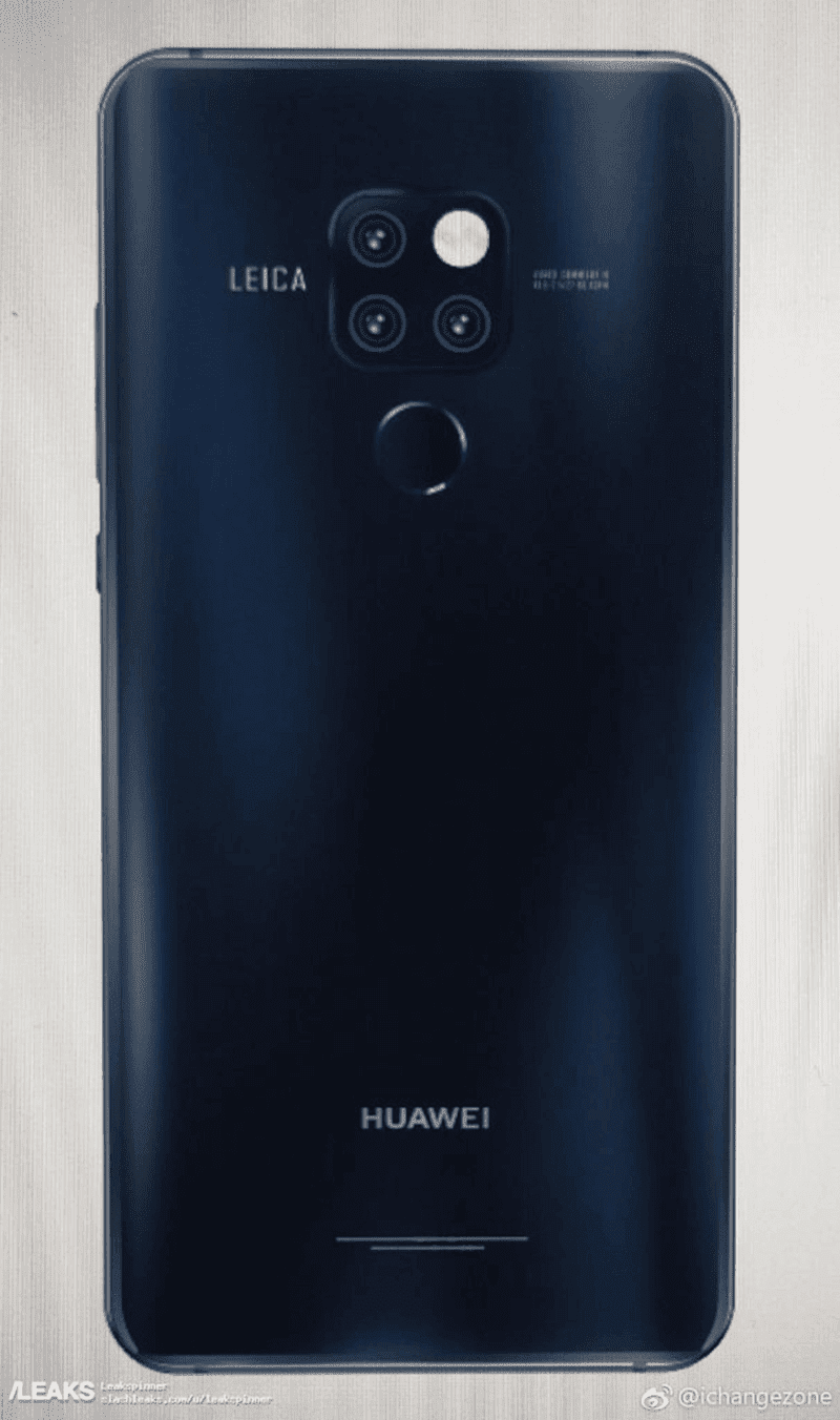 Alleged Mate 20 Pro