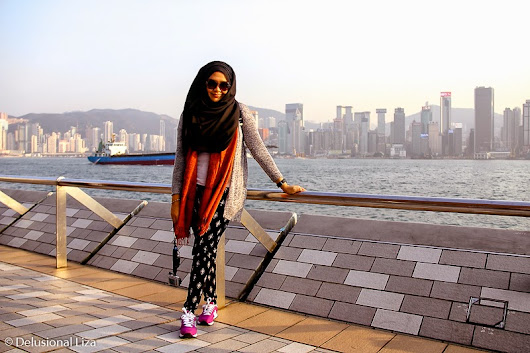 a Delusional Thinking of Liza Razak: OOTD : Winter In HK
