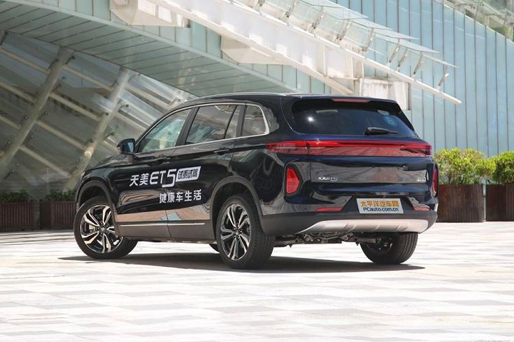 SUV điện 'Tàu' - Skywell ET5 đầy sang chảnh chỉ 500 triệu đồng