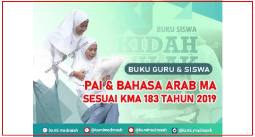 Download Lengkap Buku PAI & Bahasa Arab MA dan MAPK KMA 183 Tahun 2019