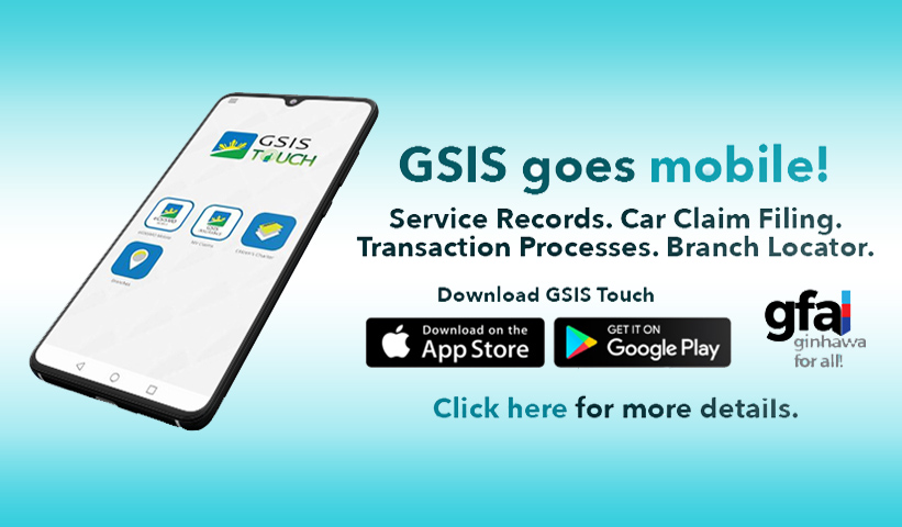 gsis touch mobile app