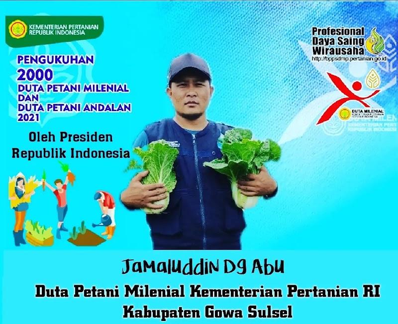Yang Muda Bertani Melalui Pengukuhan Duta Petani Oleh Presiden RI