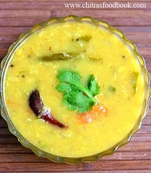 Dosakaya pappu recipe