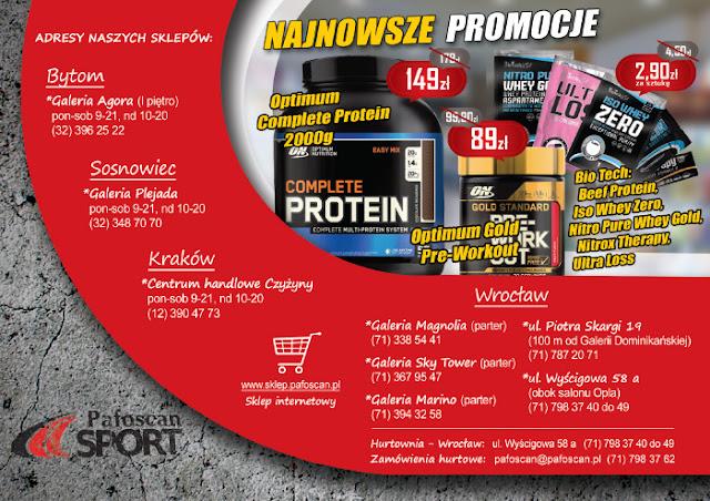 Pafoscan Sport - promocje - ulotka A5