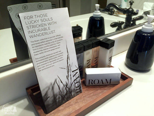 The Guesthouse Lost River exclusively features William Roam amenities in their guest rooms.