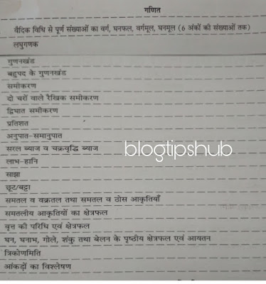 LDC Syllabus Paper 1st Mathematics