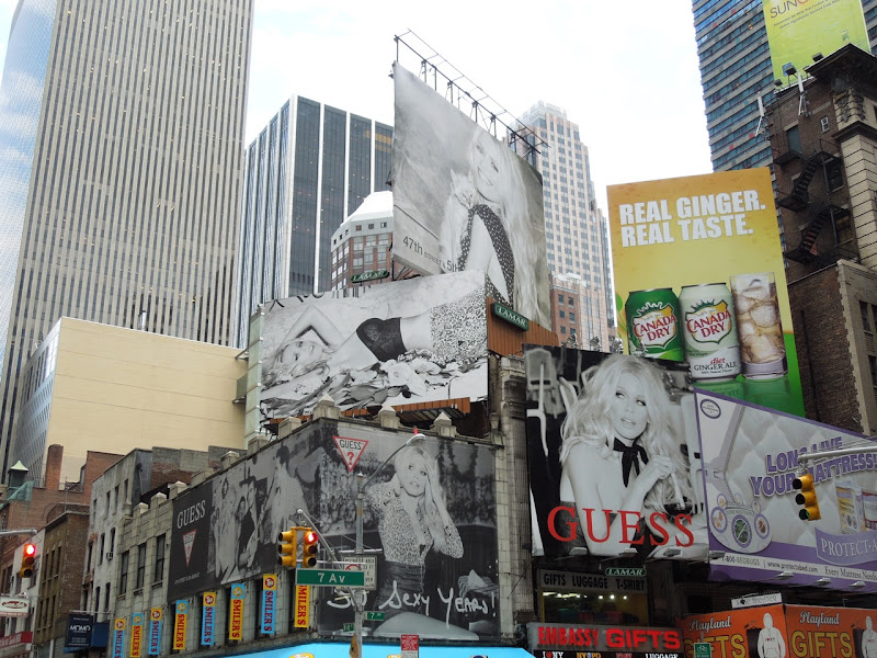 30 Sexy Years Guess billboards NYC