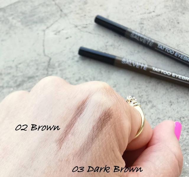 Gabriella Salvete Tattoo Eyebrow Pen odtiene