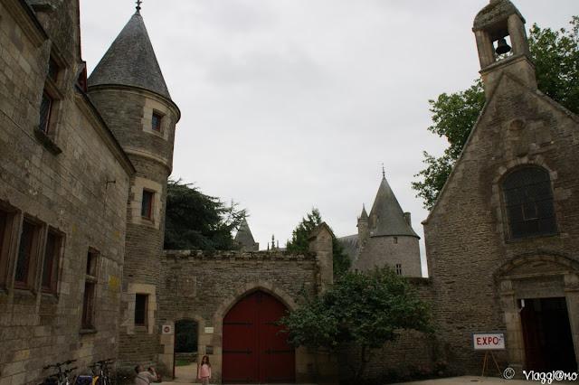 Entrata al castello di Josselin