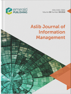 ASLIB JOURNAL OF INFORMATION MANAGEMENT