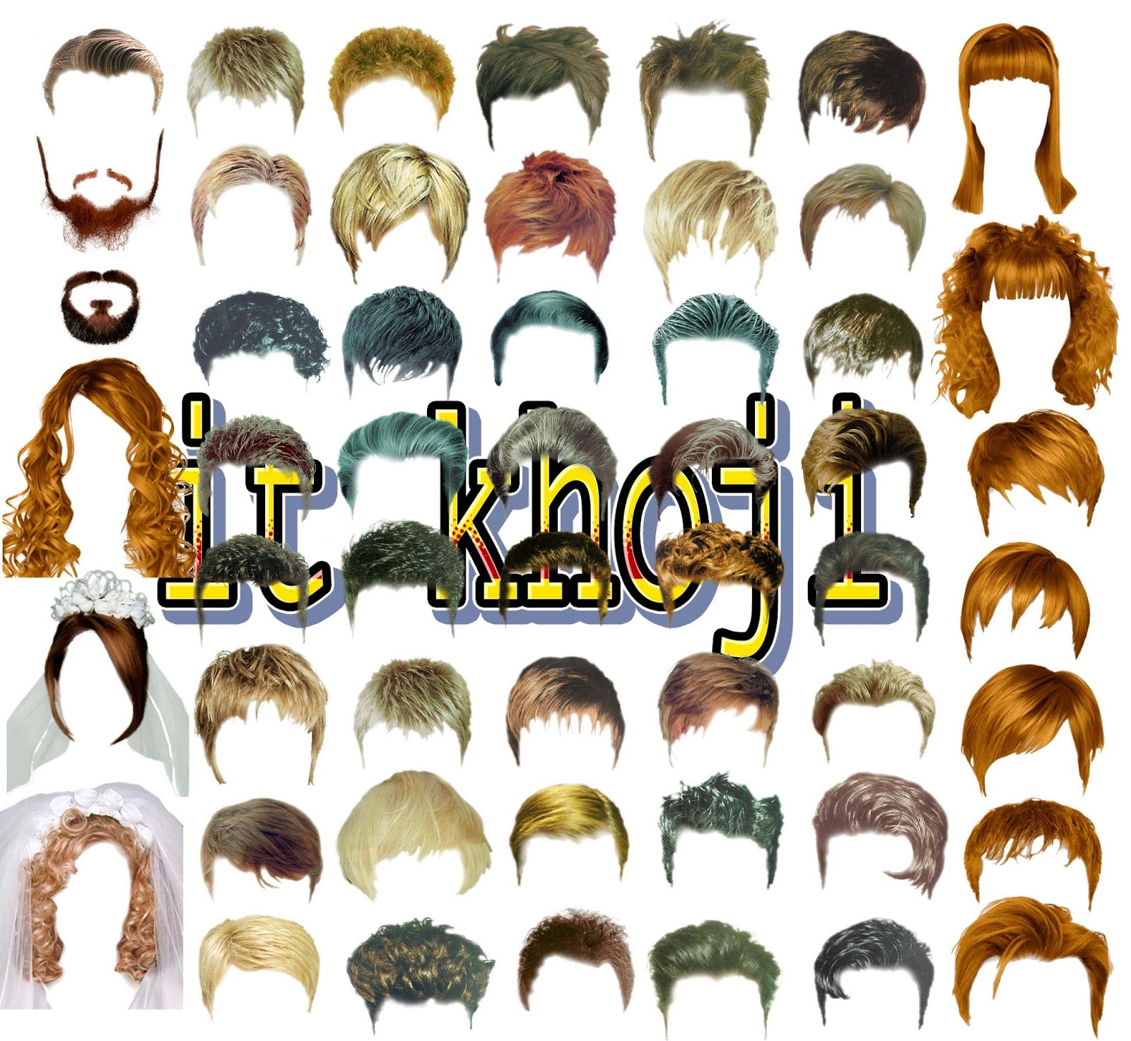 Hair Psd Free Download: Latest Stylish Hair Styles PSD Free Download For Men