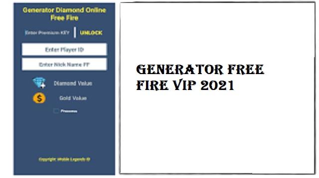 Generator Free Fire VIP
