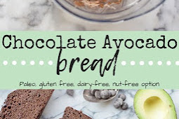Chocolate Avocado Bread {Paleo}
