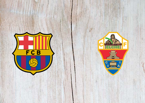 Barcelona vs Elche -Highlights 24 February 2021