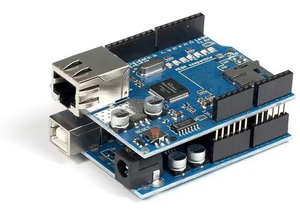 Arduino UNO Ethernet Shield