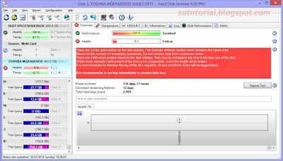 Tips Memperbaiki, Memantau Performa dan Melihat Informasi HardDisk