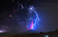 Calbuco Volcano Lightning eruption
