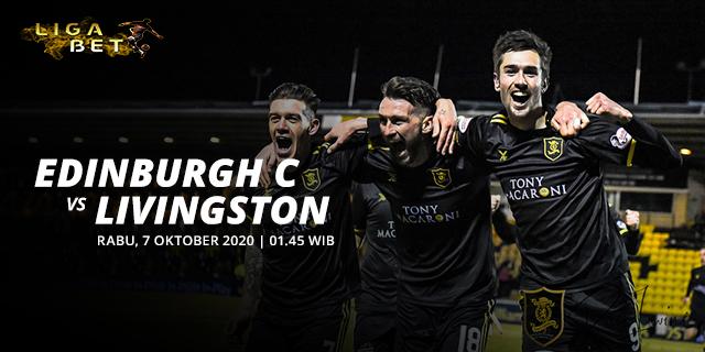 Prediksi Edinburgh City vs Livingston Rabu 7 Oktober 2020